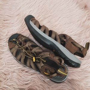 Keen Brown Leather Recreational Water Shoes